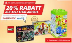 20% auf Lego bei real,- nur heute!