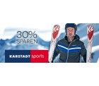 30% Karstadt Sports Gutschein auf reduzierte Outdoor Bekleidung