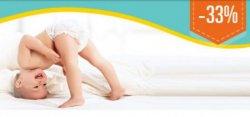 -33% Aktion bei Allyouneed: Pampers Baby Dry Megapack ab 16,68€ statt 25€ und weitere Sorten