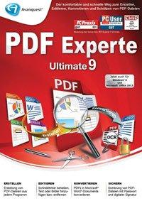 Avanquest PDF Experte 9 Ultimate kostenlos statt 69,99 € für Windows @Avanquest.com
