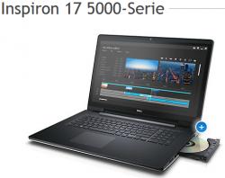 Dell.com:  Inspiron 17 5000-Serie Notebook + Windows 8.1 für nur 279 Euro (statt 369 Euro bei Idealo)