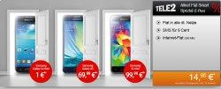 E-Plus Tele2 – Allnet Flat + 500 MB Internet Flat + z.B. mit Samsung Galaxy A3 für 14,95€ mtl.