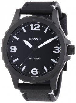 Fossil Herren-Armbanduhr XL Nate Analog Quarz Leder JR1448 für 54,29 € (98,00 € Idealo) @Amazon