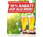 Heute 10% Rabatt auf alle Biere bei REAL