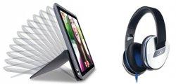 Logitech Bundle – Any Angle iPad Mini oder Air 2 Case + Logitech UE 4000 Over-Ear Kopfhörer für je 54,99 € inkl. Versand [ Idealo 121,25 € ] @Logitech