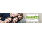 Probe BahnCard 25 (1 + 4) für 25€ @bahn.de