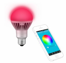 Technaxx LED RGB App-Lampe 12 Farben einstellbar für 22,00 € (47,99 € Idealo) @Notebooksbilliger