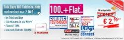 Telekom Netz: 100 Freiminuten + SMS Flat + 200 MB Internet Flat  effektiv für 2,90 € mtl. @ Handybude