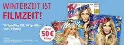 TV Movie Jahresabo effektiv gratis durch 50€ Meinpaket-Gutschein + 5€ Gutscheincode @Leseservice