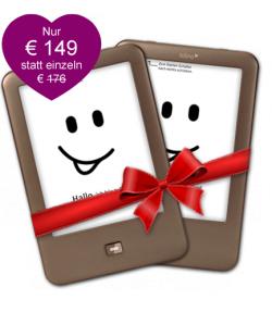 Valentinsaktion bei eBook.de: 2x Tolino Shine für nur 149 € inkl. Versandkosten [ Idealo 2 x 83 € = 166 € ]