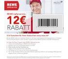 12,00€ Gutschein ab 40,00€ [Neu- & Bestandskunden] @ REWE-Lieferservice