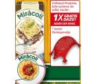 20% Rabatt auf Miracoli-Produkte + 1 koziol Parmesanreibe im Wert von 6,90€ gratis bei REAL