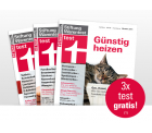 """3x die Zeitschrift """"test"""" gratis oder 4x test + 12 Monate Online-test.de-Flatrate für 29,66€ statt 50€"""