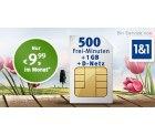All-Net & Surf 1.500 im D-Netz mit 500 Min/SMS frei + 1GB Surf-Flat für 9,99€im Monat @web.de