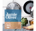 Amazon-Besteller: TEFAL Jamie Oliver Pfannenset Ø 24cm und 28cm mit gesunder Beschichtung bei brands4friends.de mit 15€ Gutschein für 59,88€ statt...