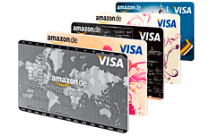 Amazon Kreditkarte mit 60€ Startgutschrift für amazon.de Prime Kunden (1-monatige Prime Probemitgliedschaft kostenlos)