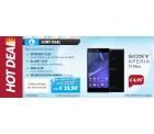 D-Netz: Sparhandy Allnet-Flat M mit Allnet-Telefonflat, 500 MB Daten und SMS-Flat + Sony Xperia T2 Ultra Phablet für nur 19,90€ mtl.