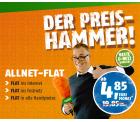 D1 Klarmobile Allnet-Flat statt 19,85€ für (12. Monate) 4,85€ mtl. @Crash-Tarife