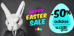 Hoodboyz Happy Easter Salebis zu 50% auf über 1.200 Artikel von Adidas und Sucker Grand