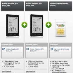 Klarmobil Allnet Starter + 2 x Kindle eReader WiFi für 5,95€ mtl. @Modeo