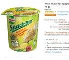 Knorr Snack Bar Spaghetti im 8er Pack  für 5,52 EUR @amazon