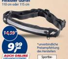Laufgürtel bei REAL (online und offline) für 9,99 € statt 14,90 €