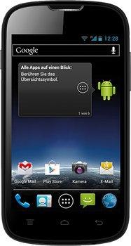 Medion: MEDION LIFE E4001 (MD 98500) 10,16 cm Android 4.0 Smartphone für nur 39,95 Euro statt 84,90 Euro bei Idealo