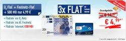 o2 Flat: Festnetz + Flat ins o2 Netz + 500MB für nur 4,99€ mtl. @Handybude