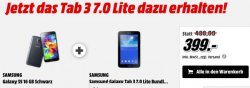 Samsung Galaxy S5 + gratis Samsung Galaxy Tab 3 7 0 Lite für 399,00 € @MediaMarkt