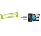 Telekom oder o2 Netz – Allnet Flat (Flat und Wunschnetz Flat + SMS Flat + 500 MB Internet Flat ) + Smartphone  ab 11,99€ mtl. @Preisbörse