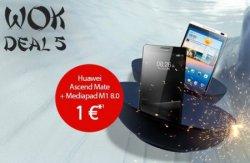 WOK-WM Deals bei handyflash: Vodafone 1GB LTE Internet-Flat ab nur 12,78€ im Monat + gratis Huawei Ascend Mate und Huawei MediaPad M1 8.0 16GB 3G