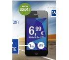 1 (2) GB LTE Flat + 200 Minuten/SMS  für 6,99 (9,99€) / Monat @mobile.gmx.de