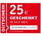 25 EUR Gutschein für XXXL mit 100 EUR Mindestbestellwert @xxxlshop.de