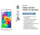 Congstar Telekom Allnet Flat S + 500MB Datenflat + Samsung S5 mini und weitere für 19,99€ im Monat @logitel