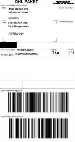 Paketnummer Dhl