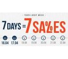 Hoodboyz: 7 Days – 7 Sales – Jeden Tag neue Angebote mit bis zu 70% Rabatt