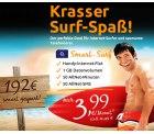 o2 Smart-Surf  (50 Min & 50 SMS in alle dt. Netze + Festnetz , 1GB Internetflat) statt 11,99 € für nur 3,99 € @crash-tarife.de