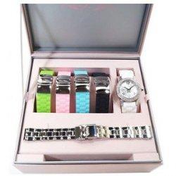 Paris Hilton Damen Uhr Set PH11687M mit Austauschbändern für 34,95 € (103,90 € Idealo) @OneDealOneDay
