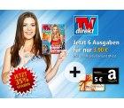 TVdirekt Mini Abo (3 Monate = 6 Ausgaben) für 3,90 € + 5,00 € Amazon Gutschein @Gong Verlag