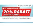 20% auf Schuhe @real.de