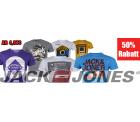 Jack & Jones T-Shirts 50% reduziert schon ab 4,97 € + 5,00 € Gutschein @Zengoes