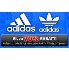 Plutosport bis zu 70% Rabatt auf die Marke Adidas + 5,00 € Newsletter -Gutschein