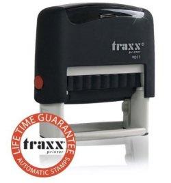 Traxx marken stempel probieraktion 38 x 14mm 4 zeilig f r - Amazon stempel ...
