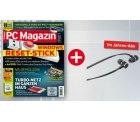 13 Ausgaben PC Magazin mit effektiv 33,20€ Gewinn durch gratis Beyerdynamic DX 160 In-Ear Kopfhörer im Wert von 98€ @abo.pc-magazin.de