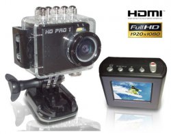 HD PRO 1 Action Cam für 54,99 € (68,76 € Idealo) @Allyouneed