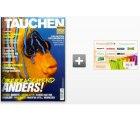 Jahresabo der Zeitschrift Tauchen für effektiv nur 4,40 EUR dank 70 EUR Gutschein-Prämie @zeitschriften-abo.de