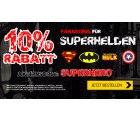 10% Rabatt auf Superhelden Fanartikel mit Gutschein @Elfen.de