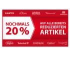 20% Rabatt auf bereits reduzierte Ware & 5€ Newslettergutschein @Roland Schuhe