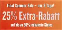 25% Extra-Rabatt auf Sale bei TomTailor.de
