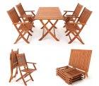 Angebot beim eBay WOW: Garten-Sitzgruppe SYDNEY mit Tisch + 4 Stühle für 119€ [Idealo: 179€]